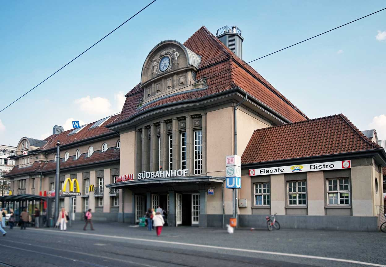Bild: Südbahnhof Frankfurt (Main)